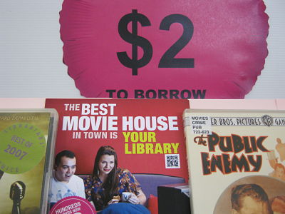 DVDs for $2