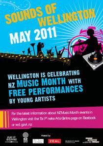 wellington city council events poster