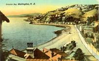 Postcard: Oriental Bay, ca. 1905