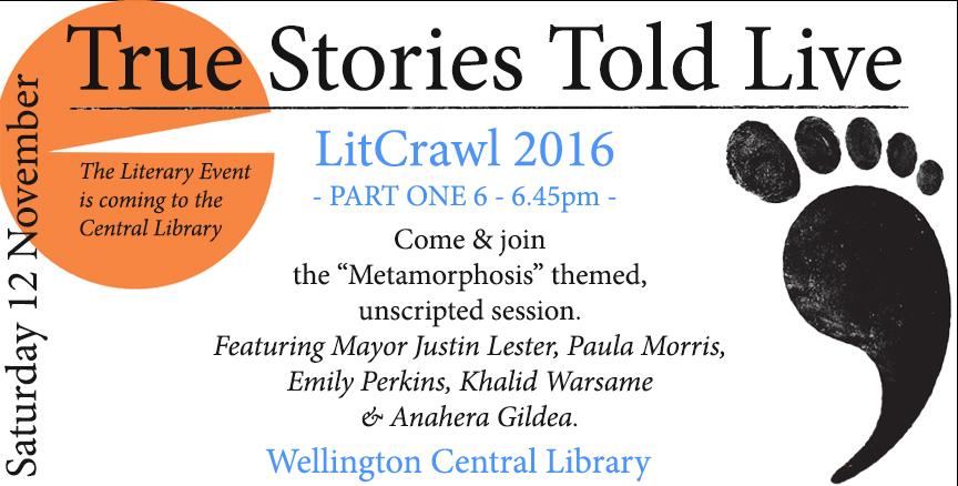 LitCrawl 2016 Cenral Library
