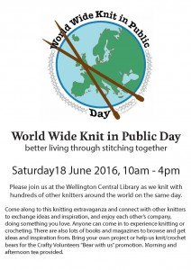 World Wide Knit in Public Day 2016