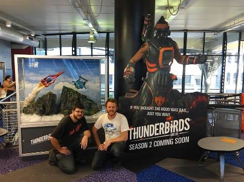 Thunderbirds Are Go display
