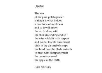 Peter Rawnsley poem