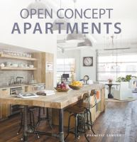 Open Concept Aratments book cover