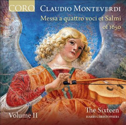 Claudio Monteverdi CD cover