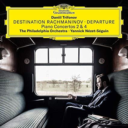 Destination Rachmaninov CD cover