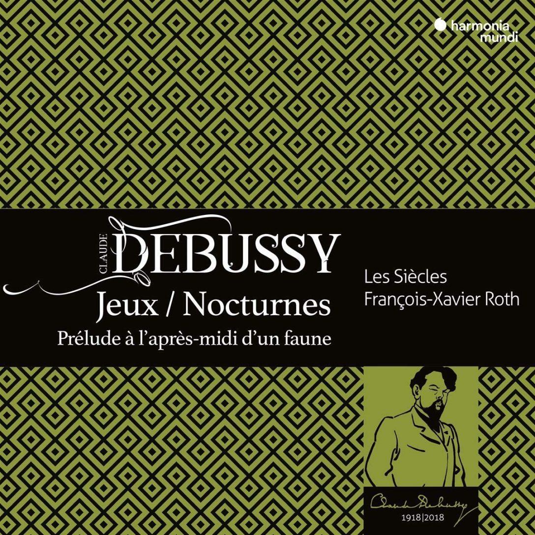 Debussy album cover