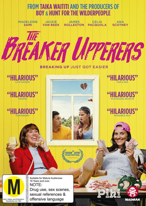 The Breaker Upperers DVD cover