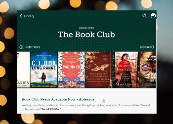 Book Club eBooks now ready to read on Libby