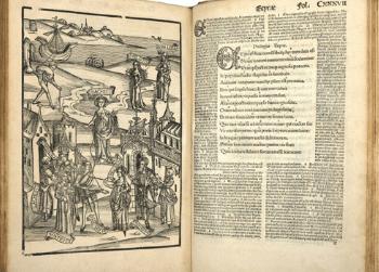 From the Rare Book Collection : Terentius Comico Carmine