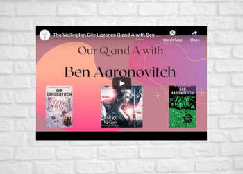 Our Exclusive Q and A with Ben Aaronovitch
