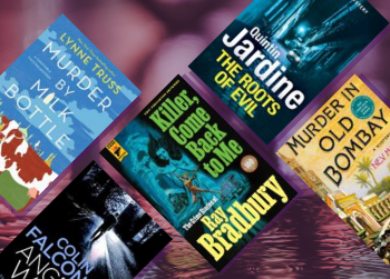 """""""Live forever"""" Our highlighted Crime and mystery titles"""