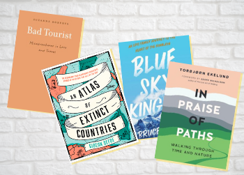 New travel books: piranhas and poisonous spiders