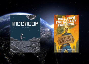 A little lightspeed music and reading for Space Week
