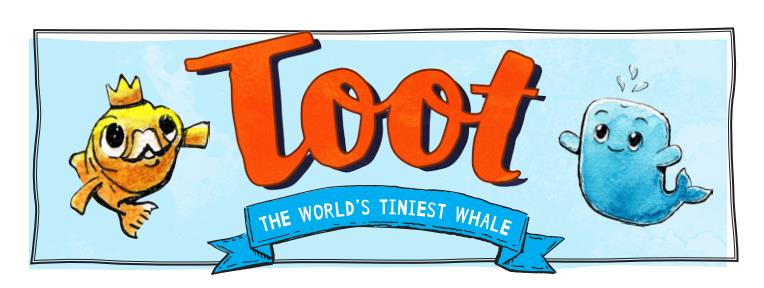 Toot the Smallest Whale banner