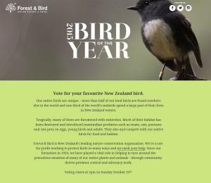 Bird of the Year