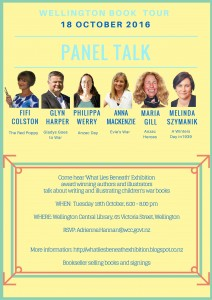 What Lies Beneath Panel Talk Poster Wtn