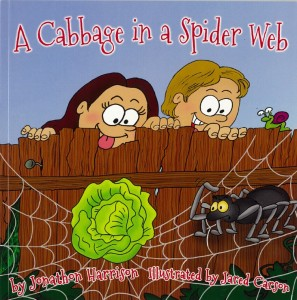 cabbage tree in spider web cover image