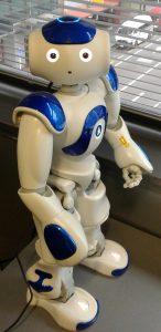 Nao Robot Blue