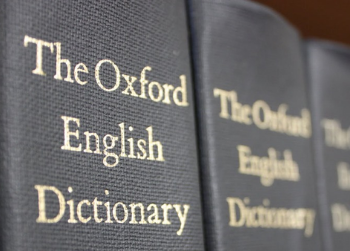 Why the Oxford English Dictionary is actually super cool