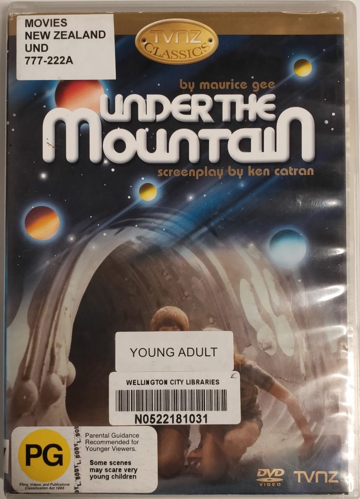 DVD cover for Under the mountain (1982)