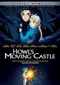 Howl's Moving Castle DVD cover