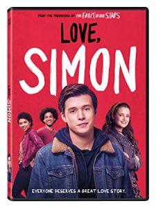 Love, Simon DVD cover