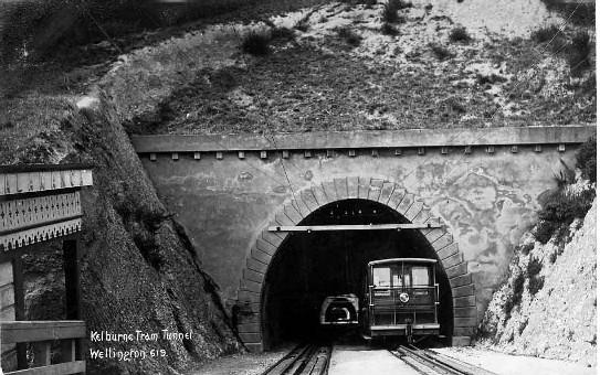 Kelburne Tram Tunnel, Wellington.