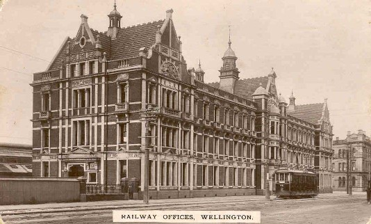Railway offices, Wellington.