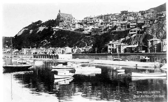 Wellington boat harbour, Clyde Quay.