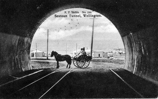 Seatoun Tunnel, Wellington.