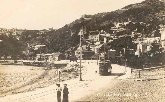 Oriental Bay, Wellington, N.Z..