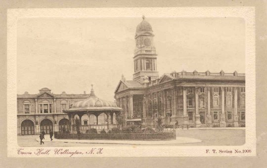 Town Hall, Wellington, N.Z..
