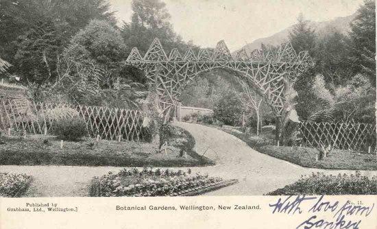 Botanical Gardens, Wellington, New Zealand.