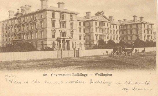 Government Buildings, Wellington.