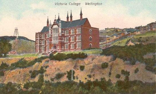 Victoria College, Wellington.