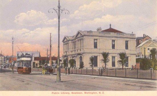 Public Library, Newtown, Wellington, N.Z..