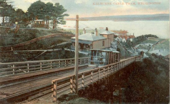 Kelburne Cable Tram, Wellington.