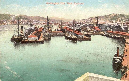 Wellington City, New Zealand.