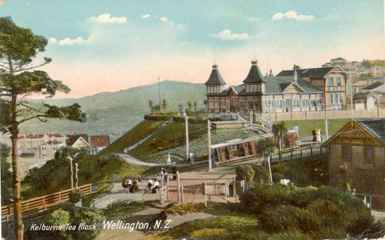 Kelburne Tea Kiosk, Wellington, N.Z..