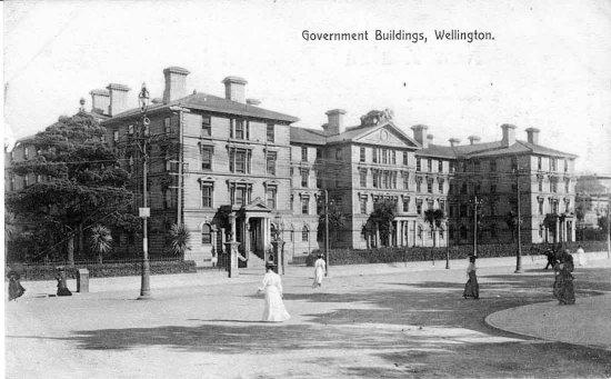 Government Buildings, Wellington /H. Plimmer, photographer.