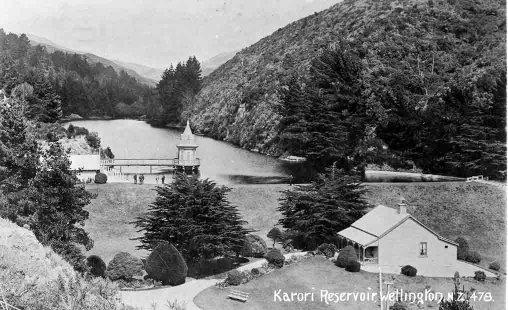 Karori Reservoir, Wellington, N.Z..