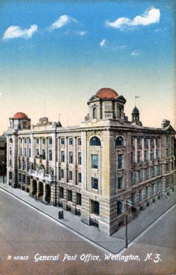 General Post Office, Wellington, N.Z..