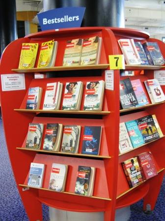 Bestseller shelves