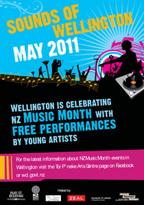 wellington city council events poster
