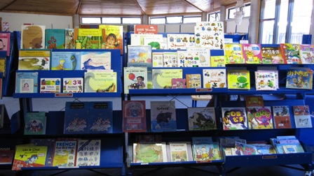 Bilingual picture books at Newtown library