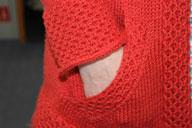 red hoodie side