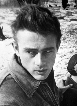 James Dean, Image used with permission. Link is to Biography Resource Center