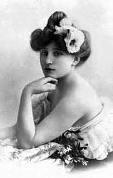 Sidonie Gabrielle Colette, Image used with permission. Link is to Wikipedia