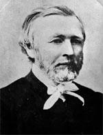 Portrait of the Reverend Johann Friedrich Heinrich Wohlers. Ref: 1/2-037421-F. Alexander Turnbull Library, Wellington, New Zealand